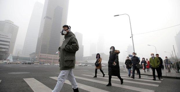 chine pékin pollution