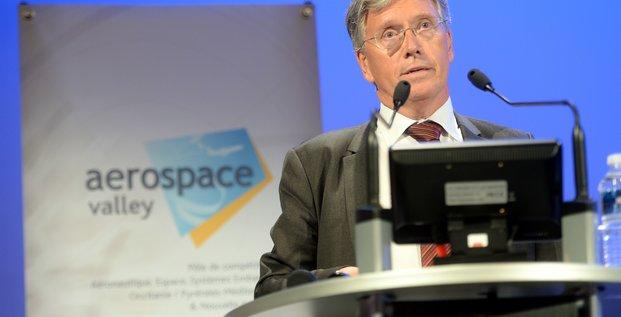 Yann Barbaux, nouveau président d'Aerospace Valley