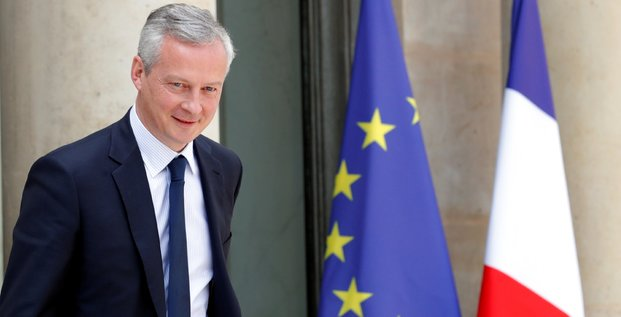 Bruno Le Maire, le ministre de l'Économie