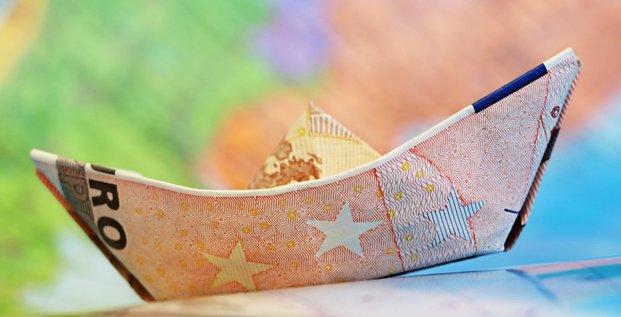 Euro, money, ship, levée de fonds, startup, Frenc Tech, billets, argent