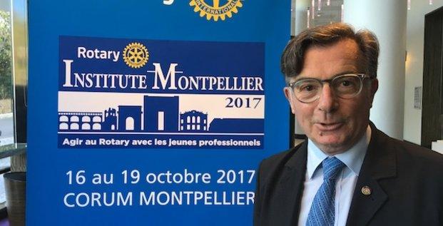 Gérard Allonneau, Rotary club