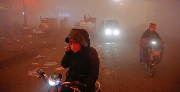 La chine peine a atteindre ses objectifs pour la qualite de l'air