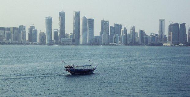 Qatar baie de Doha 01