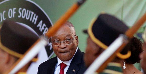 Zuma Afrique du Sud parade militaire