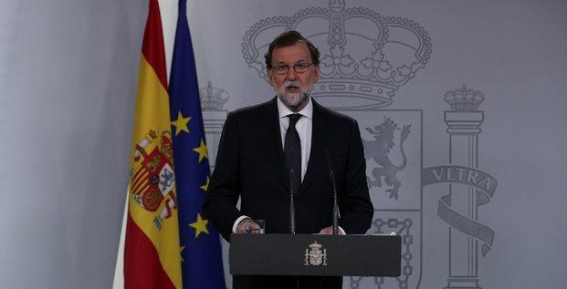 Rajoy prie les dirigeants catalans de renoncer au referendum