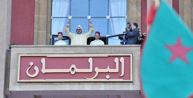 Roi Maroc Mohammed VI Parlement