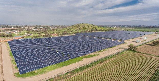 Centrale solaire Cap Vert Energie - Valle de la Luna - Chili