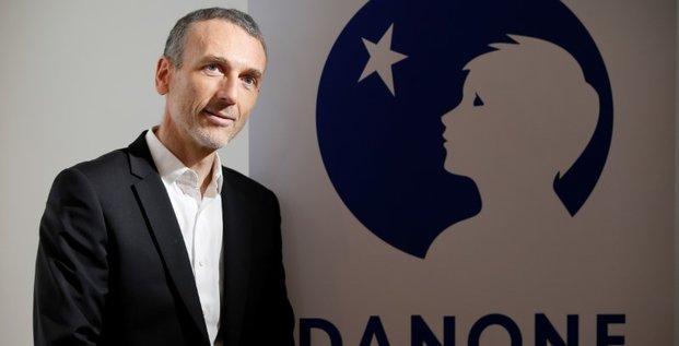Danone: emmanuel faber va succeder a franck riboud