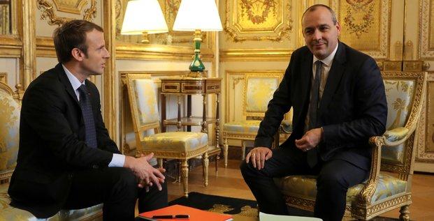 Laurent Berger (CFDT) & Emmanuel Macron