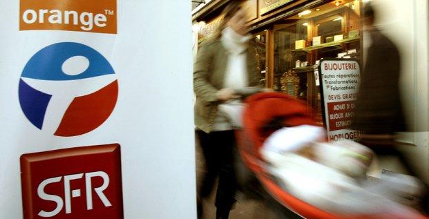 SFR, Bouygues, Oranges, télécoms, téléphonie mobile,