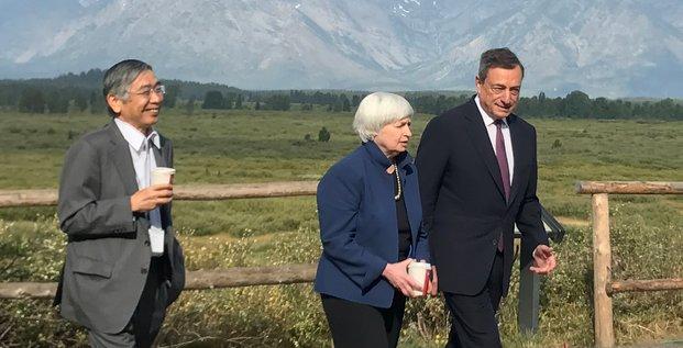 L'economie selon trump n'a pas fait recette a jackson hole