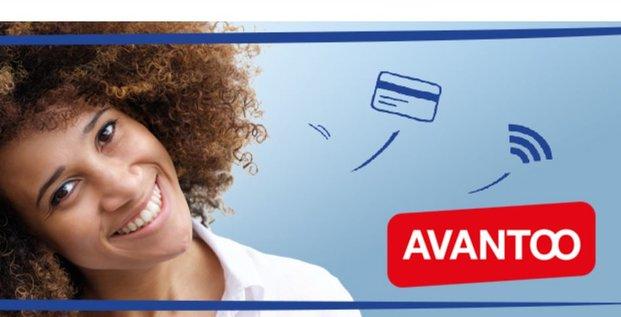 Crédit Mutuel Avantoo mobile carte