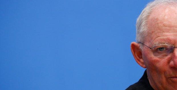 Differend turco-allemand: schauble insiste, la turquie recule