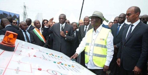 Ouattara inauguration barrage côte d'ivoire