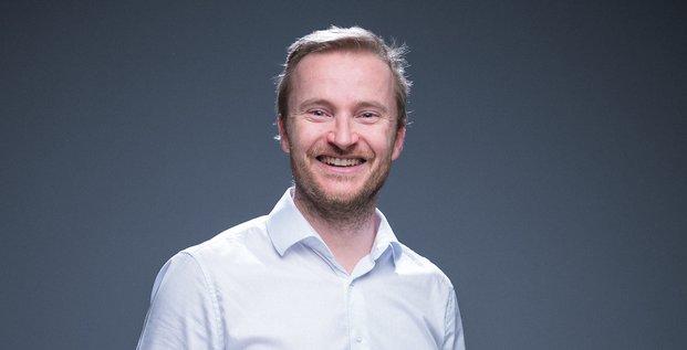 Alix Tafflé, fondateur de Morning Croissant