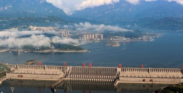 Les inondations en chine affectent le barrage des trois gorges