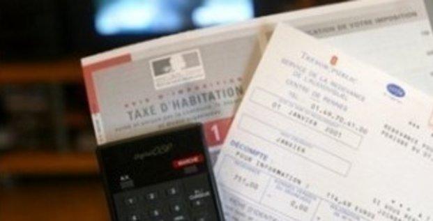 Feuilles de redevance télé et de taxe d'habitation