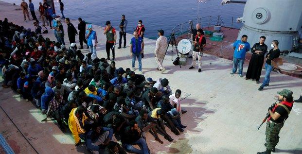 Migrants en LIbye