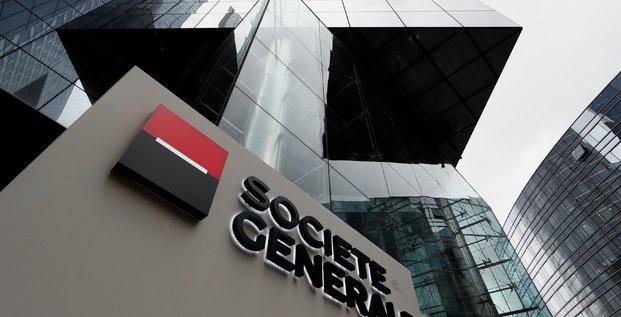 Socgen veut distribuer 50% des resultats, avec dividende minimum