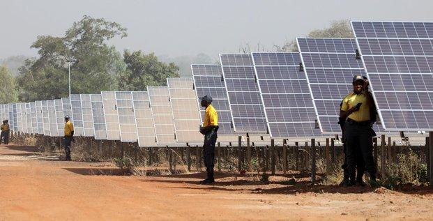 Centrale solaire panneaux burkina énergie