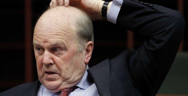 Michael Noonan ministre des finnances irlandais