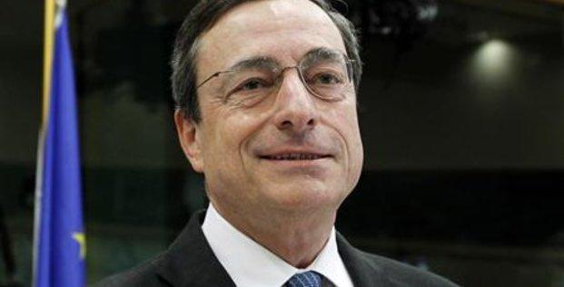 LES VINGT-SEPT NOMMENT MARIO DRAGHI À LA TÊTE DE LA BCE
