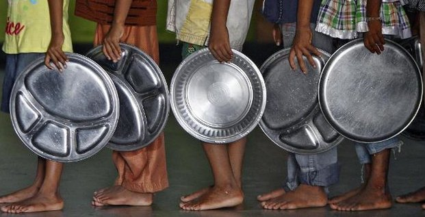 Recul de la faim dans le monde