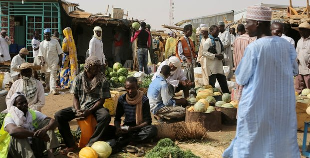 Niger marché commerce