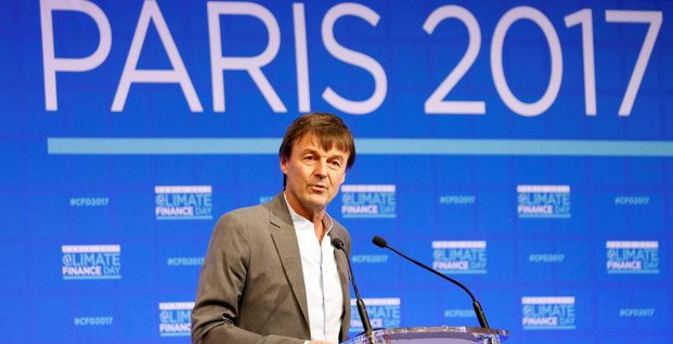 Nicolas Hulot Climate Finance Day