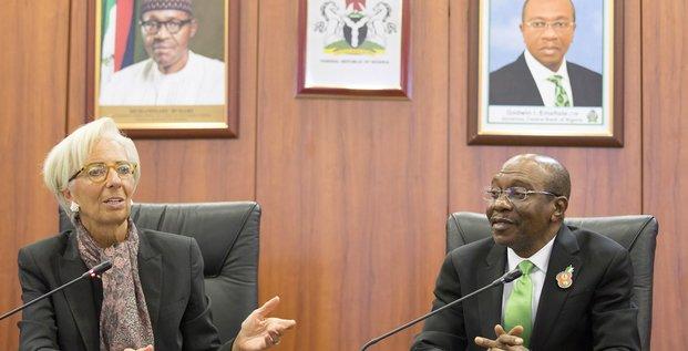 Lagarde Emefiele FMI Nigeria CBN