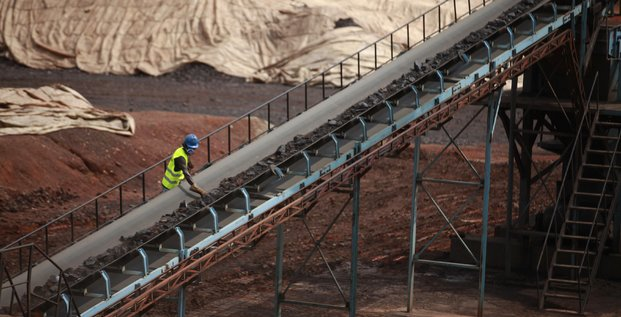 Mine de Manganèze