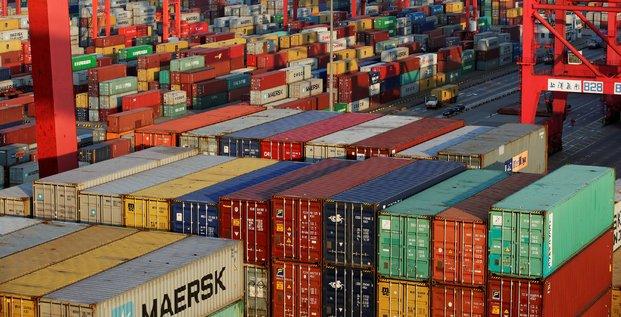 Chine, commerce, balance commerciale, conteneur, shipping, marchandises,
