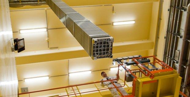 À Marcoule, l'usine Melox fabrique des assemblages de combustibles MOX