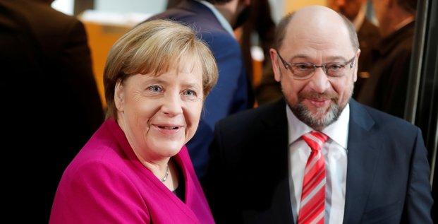 Allemagne: accord spd-droite sur la fiscalite des hauts revenus