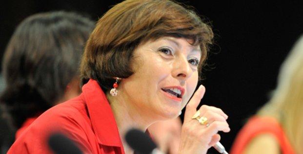 Carole Delga a adressé voeux à la presse, le 12 janvier