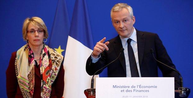 Le Maire, Bruno, Bercy, ministre de l'Economie et des Finances,