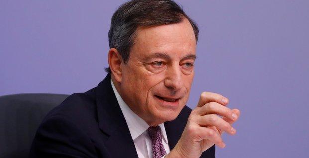 Draghi (bce) fait monter l'euro et les rendements obligataires