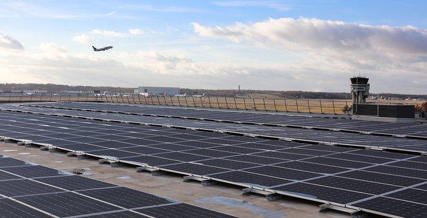 photovoltaique aeroport
