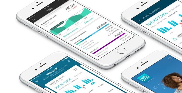 BNP appli mobile Hello Bank