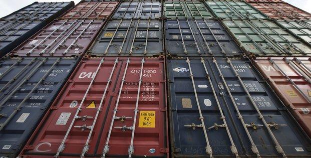 Containers, conteneurs, Le Havre, commerce extérieur, déficit, France, fret maritime, transport de marchandises,