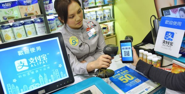 Alipay Ant Financial Alibaba paiement Fintech