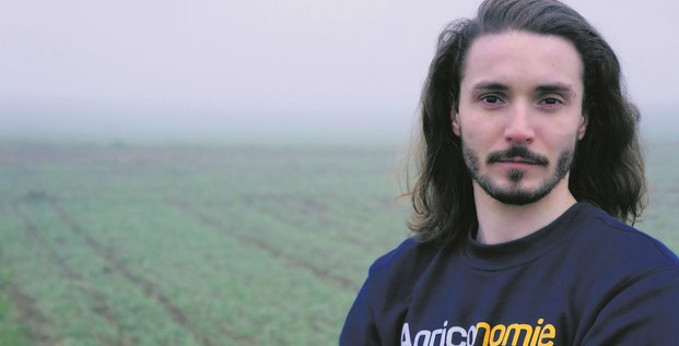 Paolin Pascot, président de l'association La Ferme digitale