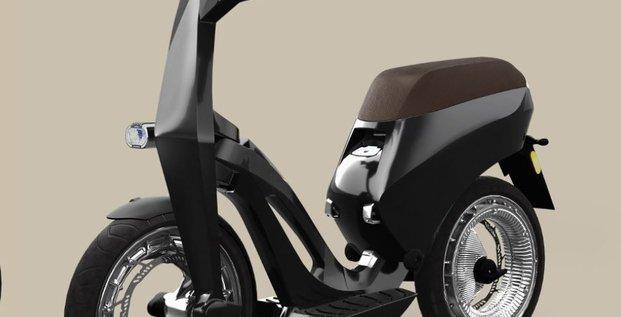 Ujet, le scooter électrique… et pliable