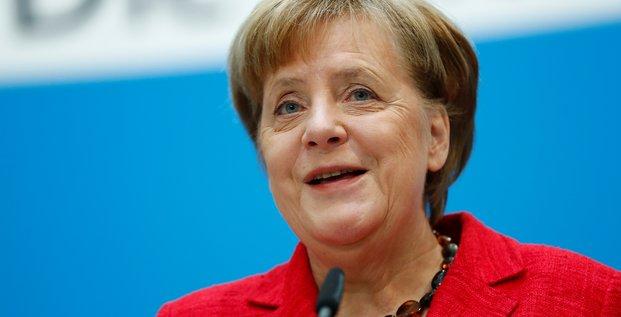 Merkel salue le oui du spd et veut un gouvernement sans tarder