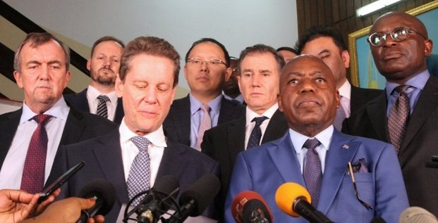 opérateurs miniers ministre RDC Congo