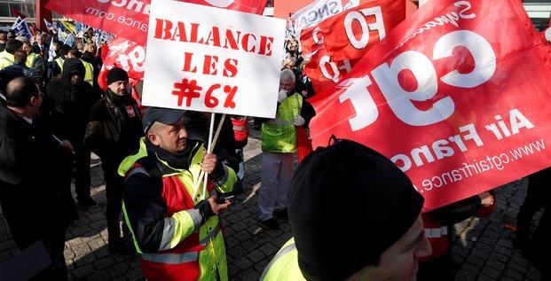 Air France, grève, pilotes, PNC, 20180222,