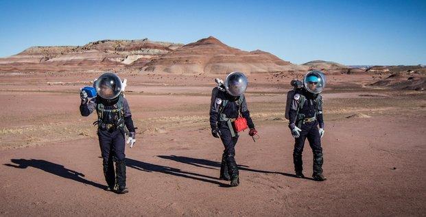Simulation d'expédition sur Mars