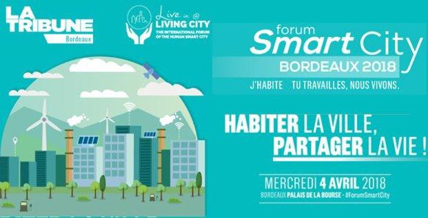 Visuel Smart City Bordeaux 2018