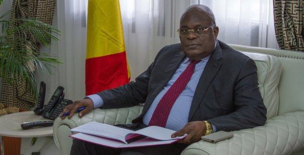 Calixte Ganongo ministre finances Congo
