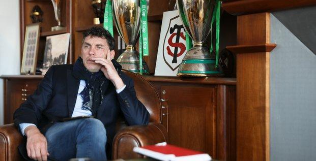 Didier Lacroix, président du Stade Toulousain